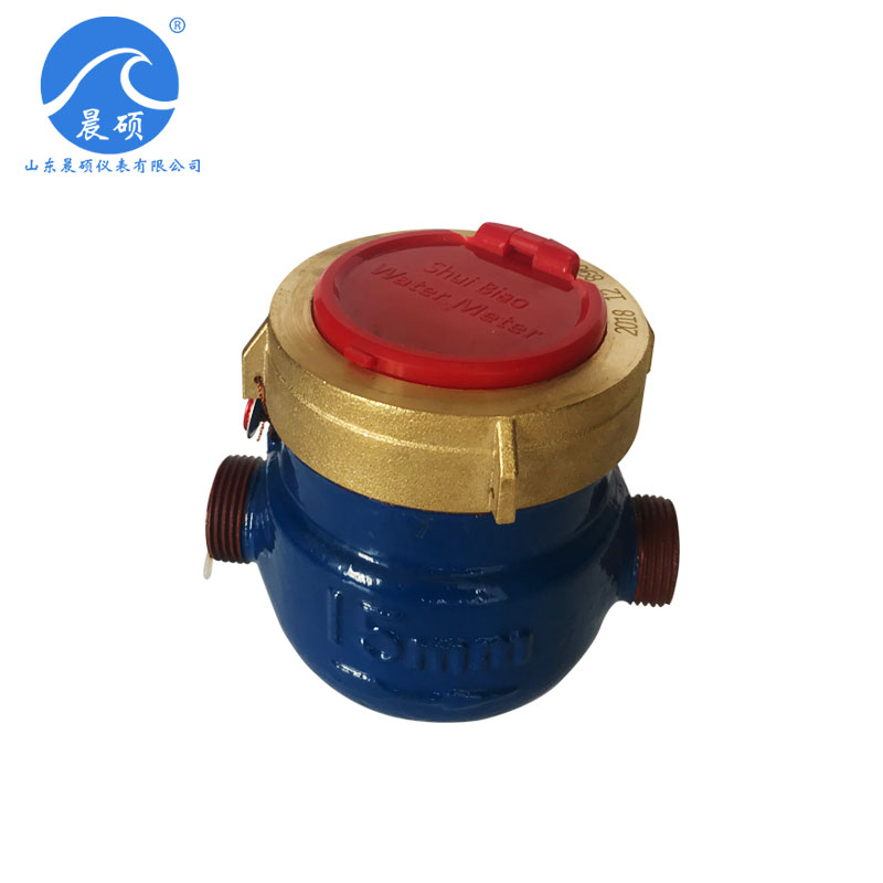 Rotor wet type hot water meter LXS-15E~50E