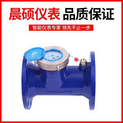 Horizontal spiral wet type hot water meter:LXLR-80E-200E